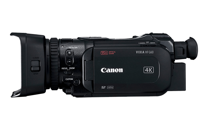 Here is the Canon VIXIA HF G60