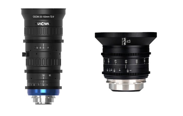 Laowa OOOM 25-100 t/2.9 and 12mm t/2.9 Zero-D will make their North America debut at NAB Las Vegas