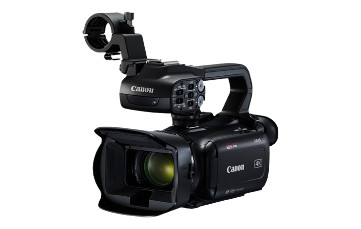 Four New Canon XA Professional Camcorders Feature 4K 30p High-Quality Recording