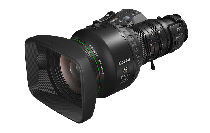 Canon Introduces Two New UHDgc 2/3-Inch Portable Zoom Lenses Designed For 4K UHD Broadcast Cameras