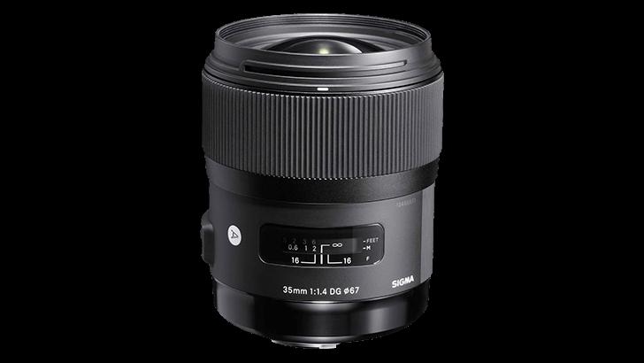 sigma3514png 728x410 - Deal: SIGMA 35mm f/1.4 DG HSM Art Series lens with SIGMA USB dock $599 (Reg $899)
