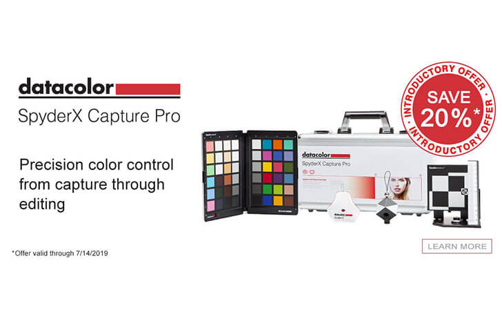 Datacolor Launches SpyderX Tool Kits for Digital Photographers