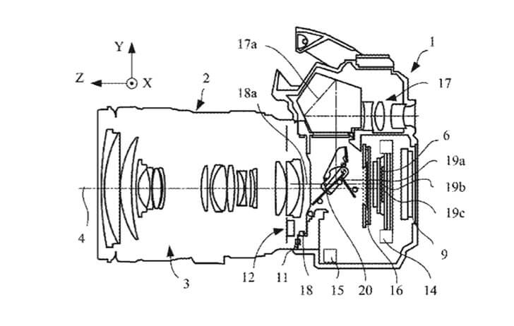 Patent: IBIS appears in a Canon DSLR for the first time