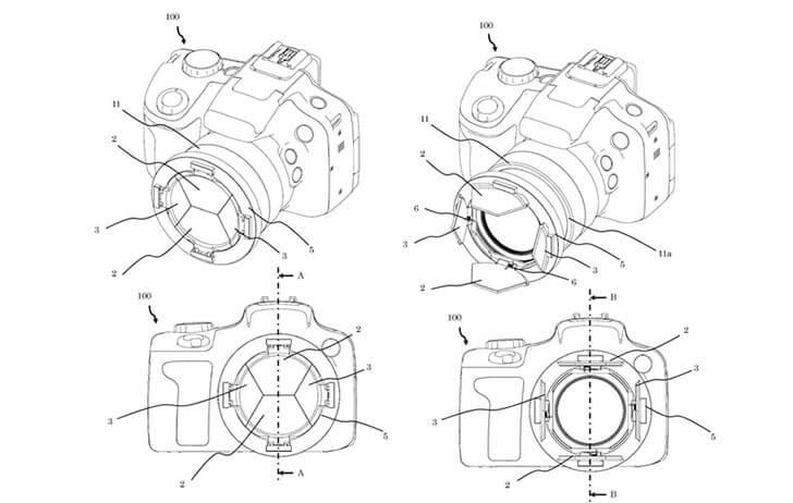 Patent: Canon working on lens cap technology!