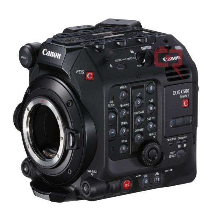 canonc500markii 728x750 - Here is the Canon Cinema EOS C500 Mark II