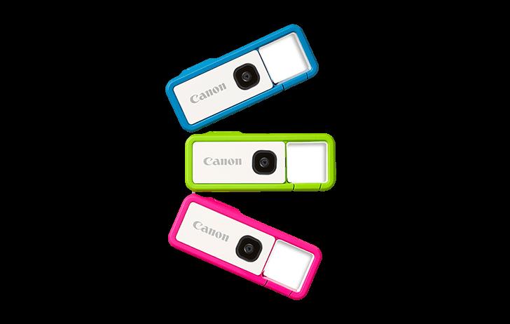 Canon officially announces the IVY REC clippable outdoor camera