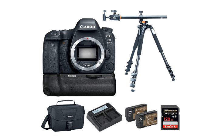 Deal: Canon EOS 6D Mark II w/Canon BG-21 Grip, SD Card and more $1199