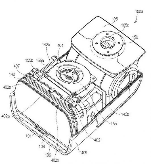 JPA 501185021 i 000020 532x575 - Canon Patent:  Hybrid Speedlite with active cooling