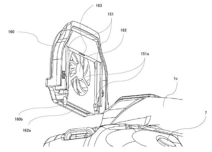 JPA 501191433 i 000008 728x521 - Canon Patent: Potential cooling for a 1 series camera