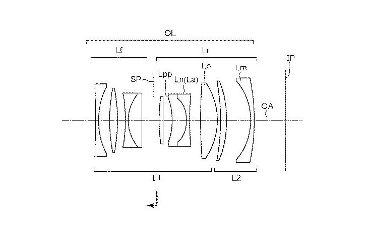 Patent: Lower cost RF mount prime and zoom lenses, including an RF 16-35mm f/4