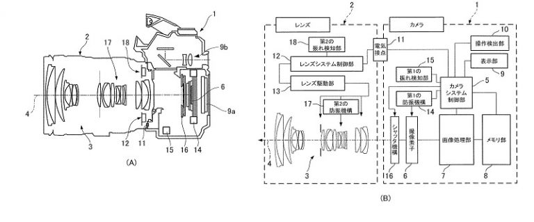 JPA 501215426 i 000003a 768x319 - Another Canon Patent on IBIS + IS