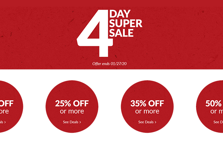 Adorama is having a 4 day super sale
