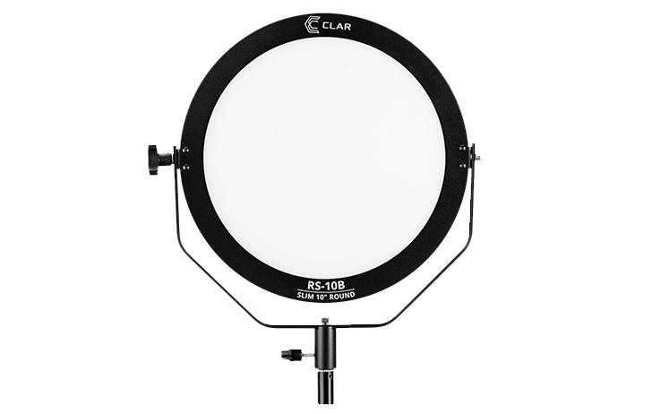 Deal of the Day: CLAR Slim 10″ Round Bi-Color LED Studio Light $99 (Reg $169)