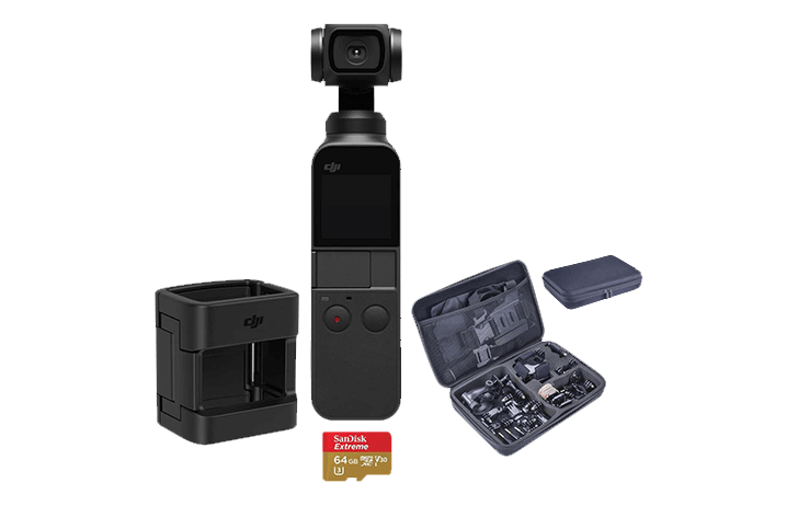 Deal of the Day: DJI Osmo Pocket Camera With Action Cam Accessory Set $309 Reg ($399)