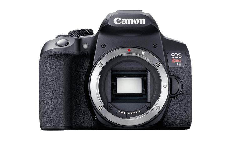 Preorder the Canon EOS Rebel T8i and Canon RF 24-105mm f/4-7.1 IS STM