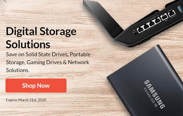 Deals: Digital storage discounts at Adorama