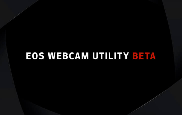 Canon releases MacOS version of their EOS Webcam Utility