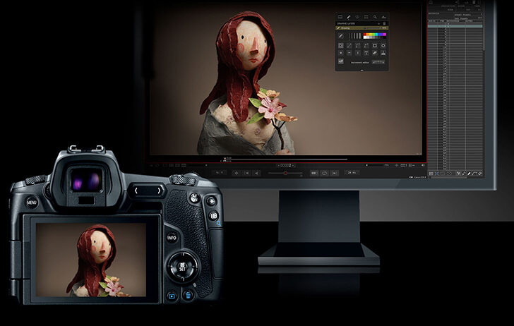Canon announces $100 firmware update for stop-motion photography