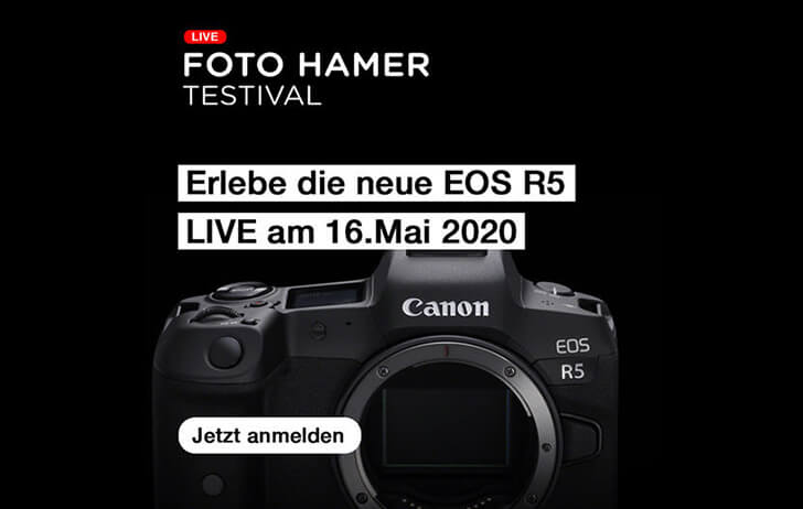 The Canon EOS R5 likely won't be announced next week