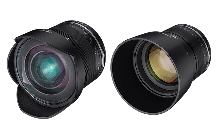 Samyang introduces the MF 14mm F2.8 MK2 and MF 85mm f/1.4 MK2