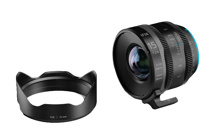 Irix has announced the affordable 8K ready CINE 15mm T2.6