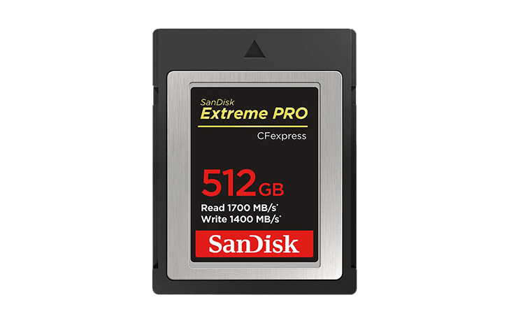 Save on SanDisk Extreme PRO CFexpress Cards