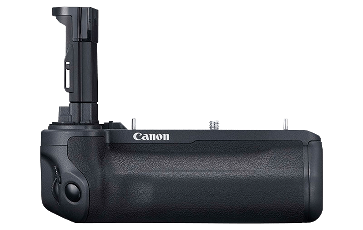 Here are the Canon BG-R10 Battery Grip, Canon WFT-R10 Wifi Grip & LP-E6NH Battery