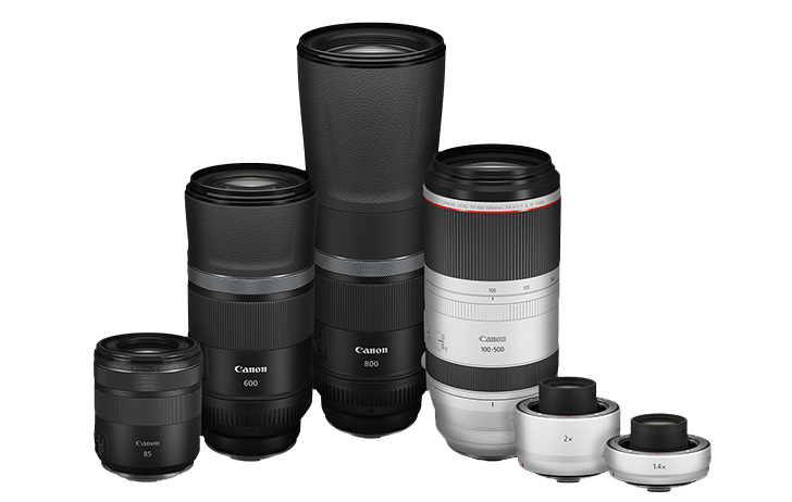 Canon officially announces the EOS R5 and EOS R6 along with 4 new lenses and two teleconverters