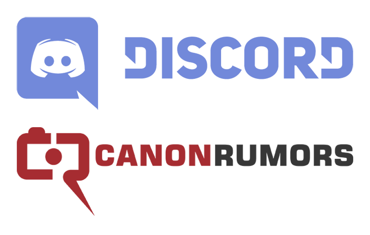 The Canon Rumors Discord channel has been relaunched