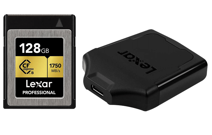 Deal of the Day: Lexar 128GB Pro CFexpress Card & CFexpress card reader $169 (Reg $249)