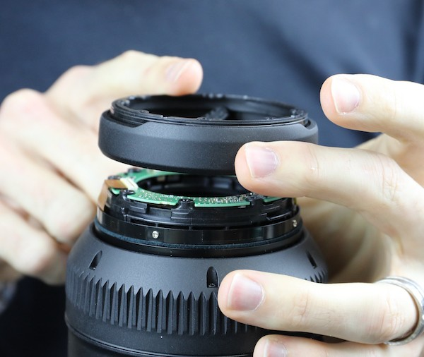 word image 13 - Lensrentals.com: Canon RF 600mm f/11 IS STM Teardown