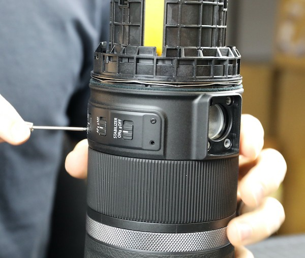 word image 24 - Lensrentals.com: Canon RF 600mm f/11 IS STM Teardown