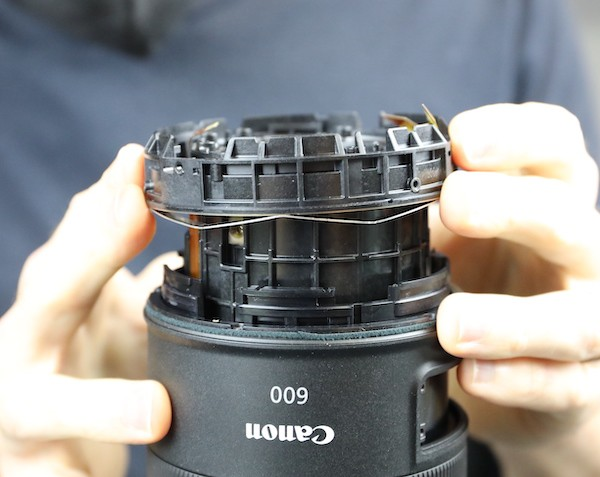 word image 26 - Lensrentals.com: Canon RF 600mm f/11 IS STM Teardown