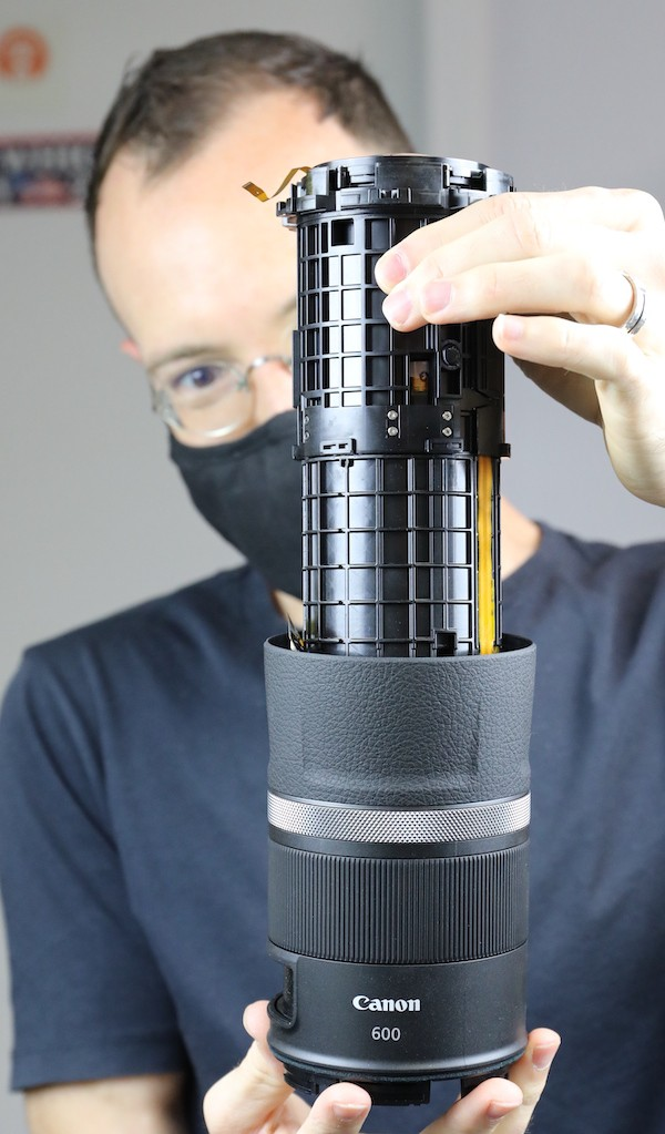word image 36 - Lensrentals.com: Canon RF 600mm f/11 IS STM Teardown