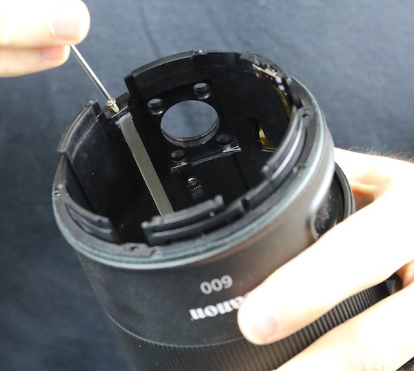 word image 38 - Lensrentals.com: Canon RF 600mm f/11 IS STM Teardown