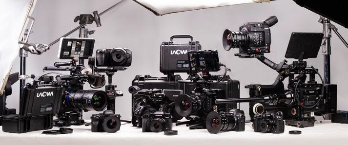 a picture containing indoor truck black sitting - Venus Optics unveils three new Ultra Wide cinema lenses for Canon RF mount cameras