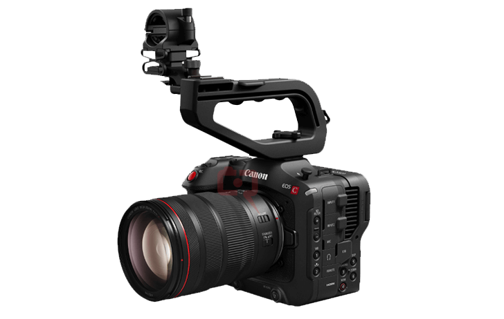 Here is the Canon Cinema EOS C70, to be announced this week.