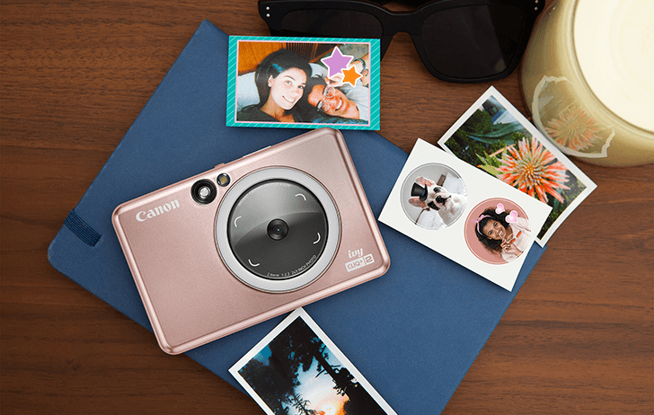 Canon announces the IVY CLIQ+2 & CLIQ 2 instant camera printer