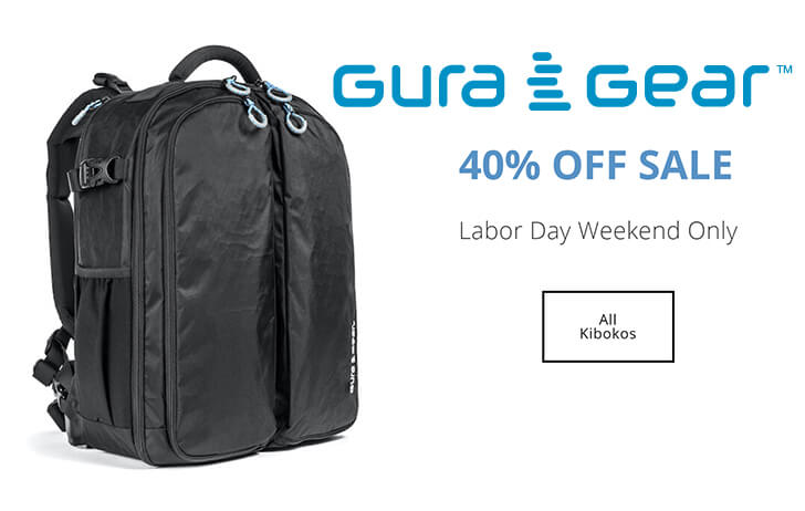 Deal: All Gura Gear Kiboko backpacks are 40% off this weekend only