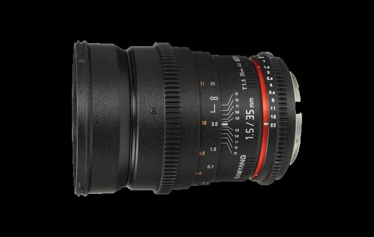 Deal of the Day: Samyang 35mm T1.5 Cine lens $299 (Reg $499)