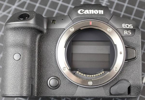 word image 1 - Teardown: Canon EOS R5 by Lensrentals.com
