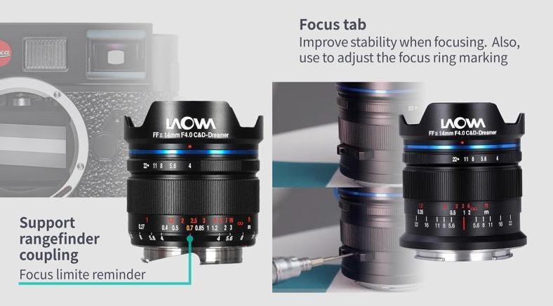 word image - Venus Optics announces the Laowa 14mm f/4 FF RL Zero-D lens for full-frame mirrorless cameras