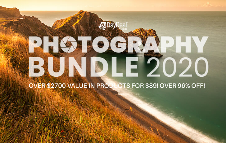 The 5DayDeal Photography Bundle 2020 has launched!