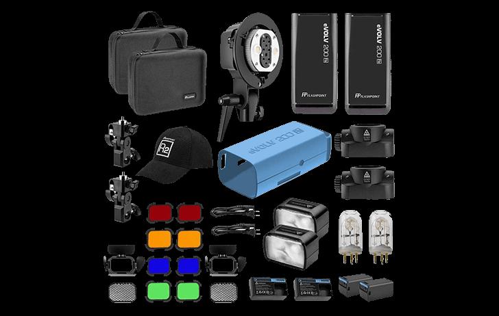 Deal of the Day: Flashpoint eVOLV 200 TTL Pocket Flash Dual Head Pro Kit $509 (Reg $730)