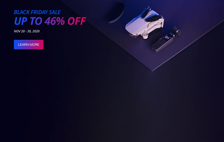 Black Friday: DJI has launched their Black Friday sales event
