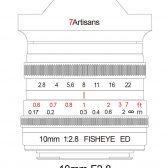 7artisan 10mm f2.8 fisheye full frame lens 4 168x168 - 7Artisans to announce an RF 10mm f/2.8 Fisheye soon