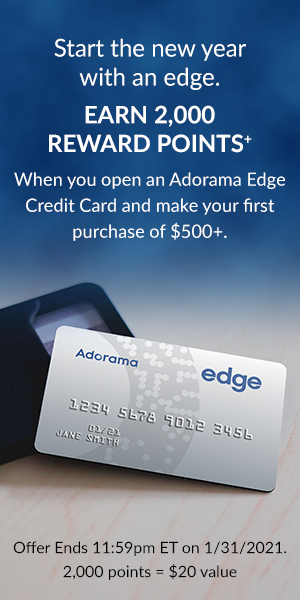 Get the Adorama EDGE card