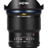 Venus Optics Laowa Argus 25mm f0.95 mirrorless lens 168x168 - Venus Optics is set to announce the Laowa Argus line of f/0.95 prime lenses for mirrorless