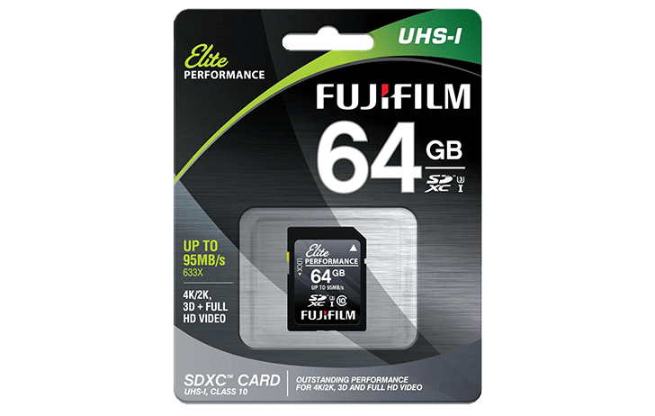 Deal of the Day: Fujifilm 64GB Class 10 UHS-1 SDXC Memory Card $9.95