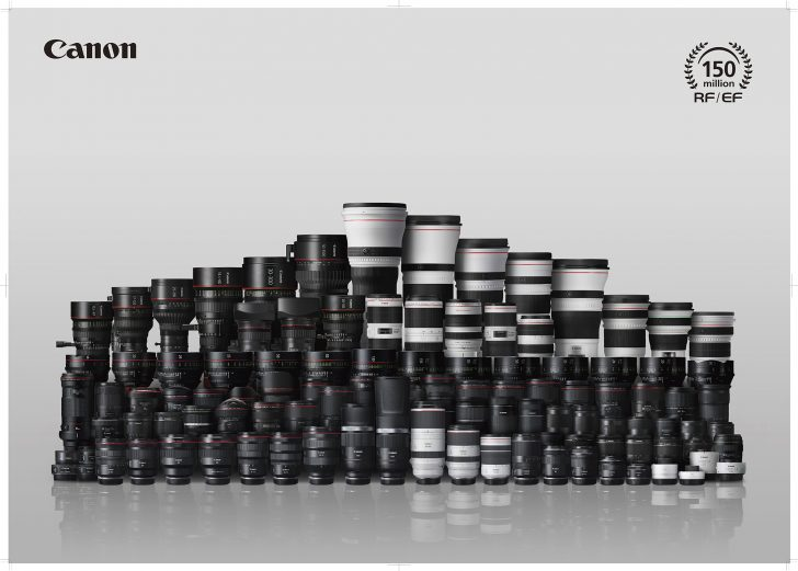 201211 150million RFEFlens postercopy 728x521 - Canon Celebrates Significant Milestone with Production of 150 Million Interchangeable RF And EF Lenses